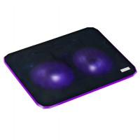 Cooling Pad ICE Notebook Laptop Cooler Pad High Speed 2 Fan - Dual Fan