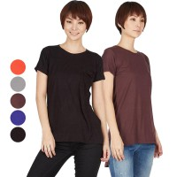 [BERRYBENKA] AG Plain Pocket Tees Available in 5 Colors / Kaos / Blouse / Atasan / Pakaian Wanita Terbaru