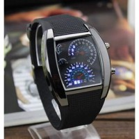 Jam Speedometer+BOX LED watch Tangan TVG Speedo Meter Tokyoflash