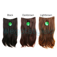 Instaclip Hairclip Big Layer 60 cm 1 Layer FullHead / Hair Clip Korea Lurus Keriting Wavy Curly