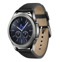 Produk Samsung Gear S3 Classic with Black Leather Strap Smartwatch