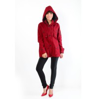 Jfashion Women's Parka Jacket Simpel Elegan - Gabriella