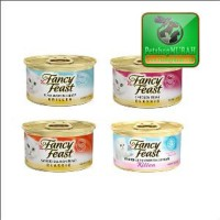 Makanan Kucing Premium - Fancy Feast All Varian 85 Gr