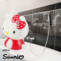 Dispenser Sabun Cair Karakter Hello Kitty Merah