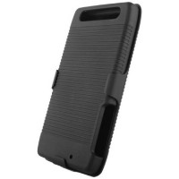 [poledit] Wireless One HHC-MTXT912 Holster Shell Combination - Non-Retail Packaging - Blac/4788848