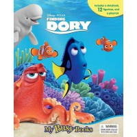 [HelloPandaBooks] My Busy Book Disney Pixar Finding Dory includes a storybook, 12 figurines