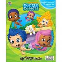[HelloPandaBooks] My Busy Book Bubble Guppies includes a Storybook, 12 Toy Figurines and a Playmat