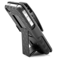 [poledit] Wireless One HHC-39891 Holster Shell Combination - Non-Retail Packaging - Black /4788869