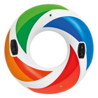 Intex Swim Ring Color Whirl Tube (119 cm) Ban Pelampung Renang 58202