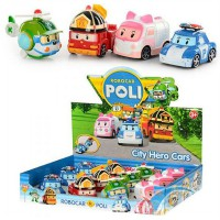 Robo Poli Car 4 Pcs - Poli Vehicle