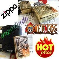 Zippo grafir ukir one pieces,limited
