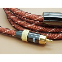 High Quality EMK Coaxial RCA Audio Cable 2 Meter
