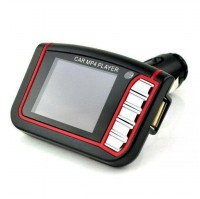 MP4 Car FM Transmitters with LCD 1.8 Inch and Micro SD