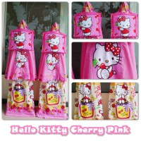 MUKENA ANAK HELLO KITTY CHERRY SIZE XXXL
