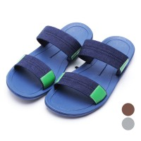 [FREE ONGKIR*] 3Pilihan Dr.Kevin Canvas Sandals 17118 Blue, Grey, Brown