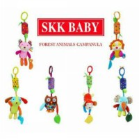 SKK Baby Gantungan Rattle & Teether/Mainan Gantungan Stroller