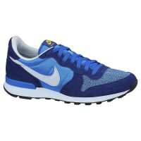 NIKE INTERNATIONALIST Sepatu Jogging Casual Sneakers Biru Pria Original 631754-402