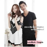Distributor Dress Couple Terpercaya | Kaos Pacaran Kekinian | Letmen