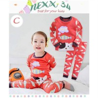 Nexx 34 Pajamas Code C - Cat and Fish