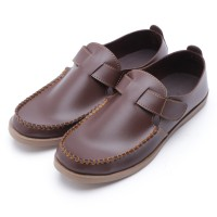 Dr.Kevin Leather Shoes 13235 Brown, Canvas 13159 Hitam/Abu