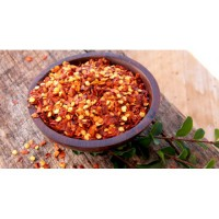 Natural Chili Crushed ( Cabai Kering ) - 40 Gr
