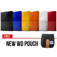 WD New My Passport 1TB 2.5' USB 3.0 Pouch