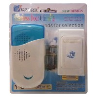 V - ZORR Wireless Door Chime A-813 - Tanpa Kabel