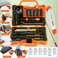 [Jakemy] Paket Obeng Multi Fungsi 45 Pcs Precision Screwdriver Set iPhone Samsung HP Smartphones