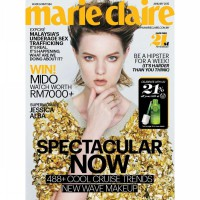 [SCOOP Digital] marie Claire Malaysia / JAN 2015