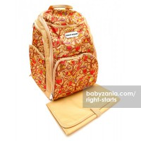 Right Starts Diaper Backpack - Brown Owl