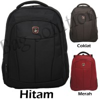 Real polo Ransel Laptop 5836 [Free Bag Cover]