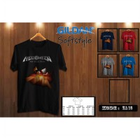 Kaos The Dark Ride Helloween - Kaos Original Gildan Softstyle