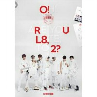 BTS O!RUL8,2? unsealed + folded poster, tanpa photocard