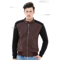 [Crows Denim] Comby Leather jacket SK51