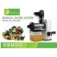 Slow Juicer Manual Dodawa