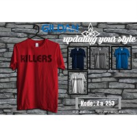 Kaos Musik Band The Killers - Kaos Original Gildan Softstyle