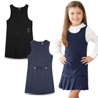 Dress Anak Perempuan- 2Y-12Y- French Outer Dress