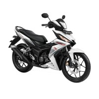 Honda New Supra GTR 150 Sporty Cruiser White (OTR Kedu)