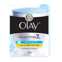 P&G Olay Natural White Insta-Glow Fairness UV Cream 50g