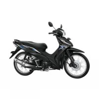 Honda Supra X 125 Helm in PGM-FI Glorious Blue (OTR Kedu)