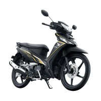 Honda New Supra X 125 Fi Sporty Luxury Quantum Black (OTR Kedu)
