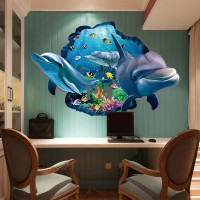 Dekorasi WallSticker 3D