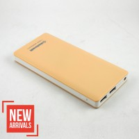 Delcell ECO Powerbank 10.000 mAh Real Capacity - Yellow Light
