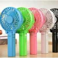 Kipas Angin Tangan Ac Mini Kipas Handy Mini Fan 2 In 1 Kipas Charger Powerbank