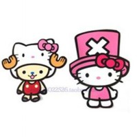 Stiker Mobil Hello Kitty With Hat