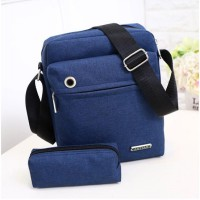 2 In 1 Shoulder Bag Dengan Lubang Earphone | Tas Selempang - MX89