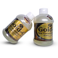 Jelly Gamat Gold G Sea Cucumber 320 ml TUTUP COKLAT ( 1 kg muat 3 biji )
