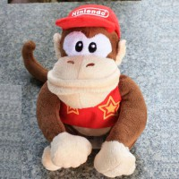 [globalbuy] Promotion Super Mario Bros Plush Doll Toy Cute 20cm Diddy Kong Plush Doll Kids/3127093