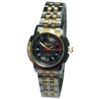 Tetonis - Jam Tangan Fashion Wanita - T9785M SP - Silver Black Gold