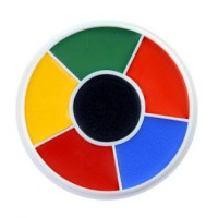 [macyskorea] Jubujub Ben Nye Color Makeup Wheels - Rainbow RW (6 Colors)/15221024